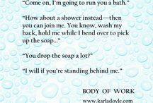 Book Snippets - Body of Work / Bite-sized excerpts from Body of Work by Karla Doyle *18+ due to some adult content*