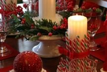 Xmas Decor for Tables / by Gina Wlaschin