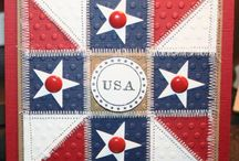 Quilted/Patchwork Cards / by Cheryl Stapp Yates