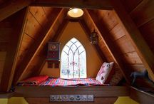 Attic Renovation Inspiration / by Carolyn Bahm