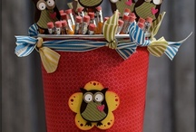 Owl cards, gifts & treats / by Lisa Barton,