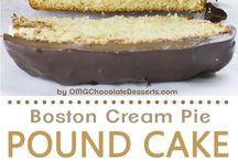 Sütik, édességek, torták