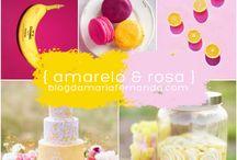 Amarelo e rosa