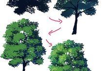 木 描きかた