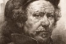 Rembrandt drawings