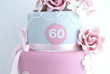Mum's 70th cake ideas