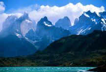 parc national Torres del Paine Chili paysages amerique sud / parc national Torres del Paine Chili paysages amerique sud
