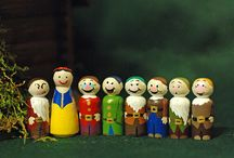 Peg Dolls / Peg Dolls available for purchase