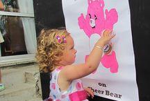 carebear theme party