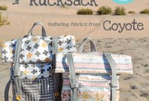 Backpacks and rucksacks to sew / by Deby Coles