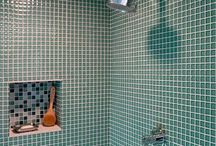 Bath + toilet