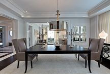 Eloquent Dining / A collection of dining rooms that are both elegant and suitable for entertaining.