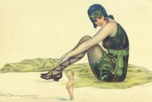 Pin-Up Art by BOMPARD, Sergio / 1890 - 1940