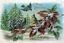 Vintage Christmas Illustrations & Clipart / It's Christmas all-year round at Free Vintage Illustrations! Visit FreeVintageillustrations.com for more christmas printables, free xmas clipart, antique christmas greeting cards, and more.