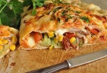 calzone z warzywami