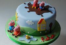 My Peppa Pig Birthday party!
