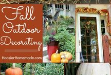 Fall Decorating / Fall and Halloween decorating ideas.