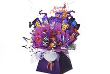 Christmas Candy Bouquet Crafts / Stunning chocolate and candy bouquet gift arrangements for Christmas