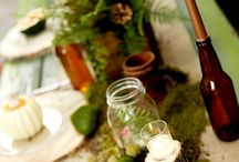 Wedding♦Woodland♦Rustic / Woodland Rustic Themed Wedding