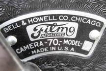 Bell and Howell / Bell & Howell was an American camera maker, who made cine cameras from 1912. It bought the still camera maker TDC. Their first still camera was the Foton in 1948. (Camerapedia)
