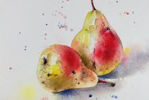Draw and Paint: Fruits