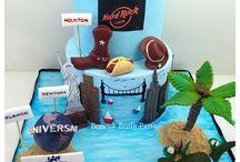 America themed cake