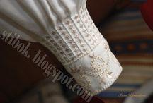 Идеи вышивки манжетов