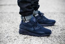 "Nike Air Max 90 Ultra Moire ""Midnight Navy"" (819477-400)"