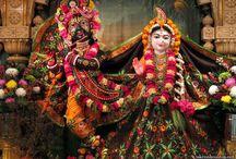 ISKCON Houston - Radha Nilamadhav  / Beatifull Wallpaper of Radha Nilamadhav of ISKCON Houston maid by ISKCON Desiretree