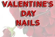 Valentine's Day Nails / The Very Best Valentine's Day Nails from across the web!