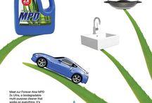 Tisztítás / Környezetbarát, biológiailag lebomló univerzális tisztítószer.