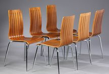 Danish Modern Chairs and Seating