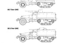 Allied half-tracks