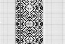 схемы крестик