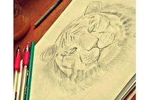 Meus Desenhos / Meu passatempo preferido. Estampo meus sentimentos e sonhos em desenhos. ❤
