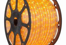 Φωτοσωλήνας LED μονοκάναλος Διάφανος κίτρινο χρώμα 230V 5767053 OEM τιμή μέτρου €2.29 Τιμή: €3.30