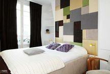 Deco Chambre - Bedrooms Deco / Traditionnel . Contemporain . Moderne . Design, découvrez et partagez avec nous les plus belles chambres ou dormir à Paris ! #1000et1Paris