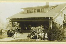 Fencing on early southern California homes / Victorians and Bungalow homes with fenced front yards in and around Los Angeles region (mostly)