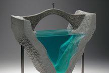 Escultura vidrio
