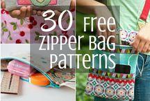 zipper bag patterns