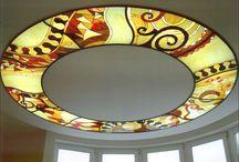 Enchantingly Beautiful, Artistically Balanced, Illuminated Stained Glass Artwork Ideas!!