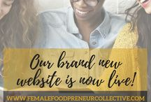 Female Foodpreneur / What we do! > At Female Foodpreneur, we celebrate, connect, and provide resources and tools for women in the food and drink industry #womeninfood.