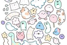 Kawaii doodles