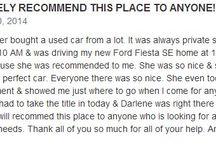 Ford Autoworld Reviews / What Our Customers Say