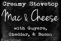Cheesy Goodness / Decadent and delicious recipes featuring cheese!