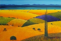 Art: Landscapes and Cityscapes / Paintings of landscapes and cityscapes