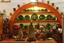 Cocinas y comedores mexicanos