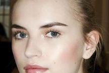 Pale skin makeup