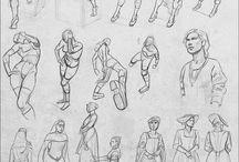 Desenho - Referências / by Vincer Victor