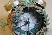 Tim Holtz Clocks